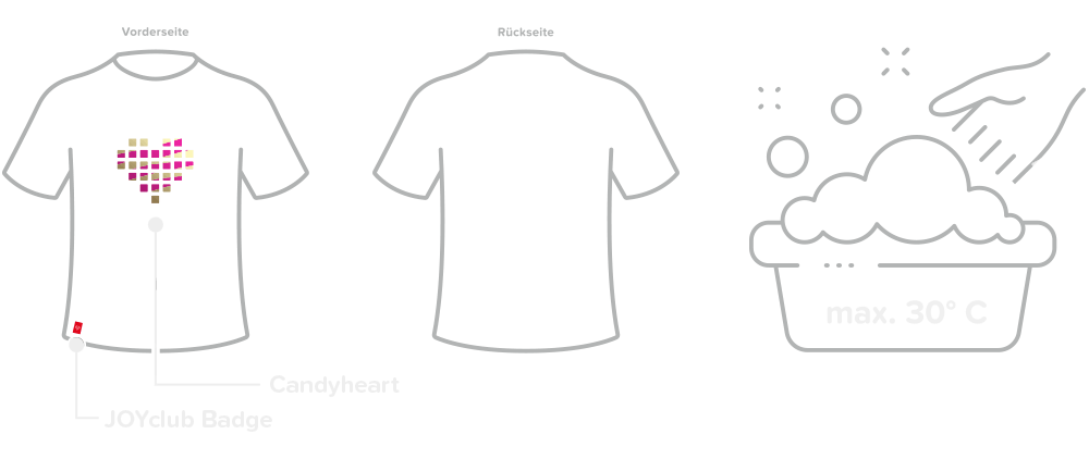 Layout Candyheart T-Shirt